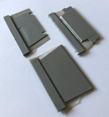 35015 Front 79mm armor and front 76mm upper armor + add 45mm armor for IDF Shot Kal - 1