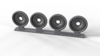 35151 Spare steel wheels for M113 family, 4 pcs.