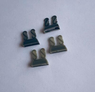 E35008 S - Towing clevis for Pz.III family and Pz.IV early type, 8 pcs. - 1