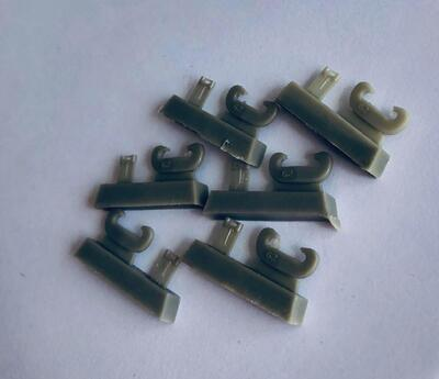 E35038 C - Towing clevis with casting no. for Panther family, Tiger I family and Kingtiger family, 6 pcs.