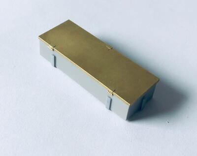 E35079 Metal box for Stug.III G from LSSAH, type 2, with bracket - 1