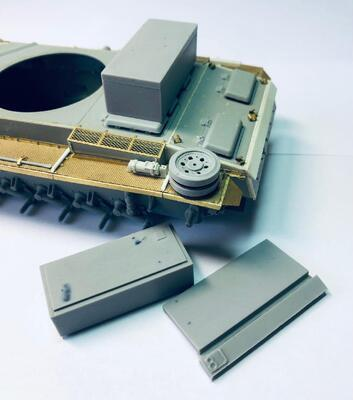 E35081 Metal box for Stug.III G from Totenkopf Division - 1