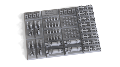E35144 Detail set for Pz.III M, for 4 vehicles - 1