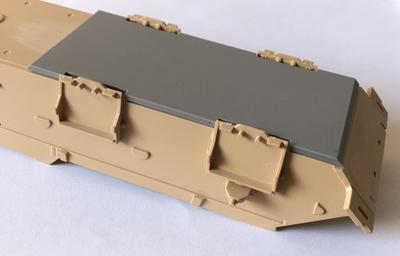 35034 80 mm Belly armor for Nagmachon from Tiger Model kit - 2