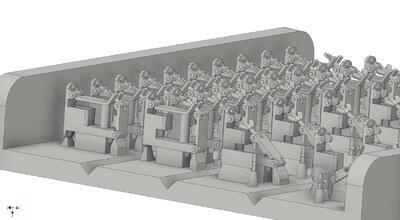 E35135 German jack holders for Pz.III/Stug.III, closed and open variant for 16 vehicles - 2
