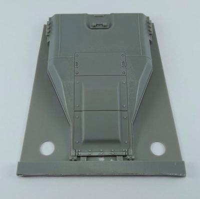 35044 Engine deck for M60 family with weld lines and details - 5